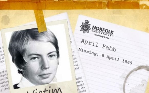 April Fabb: Went missing in a nine-minute window of time