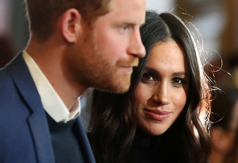 Price Harry and Meghan Markle (PA)
