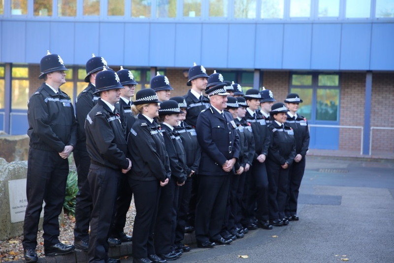Nottinghamshire Police is among those to have recently taken on new officers