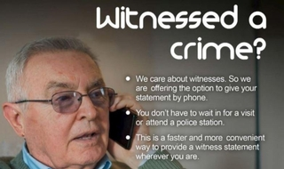 West Yorkshire introduce phone-in witness statements
