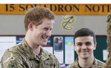 Prince Harry 'Goes On Police Dating Site'