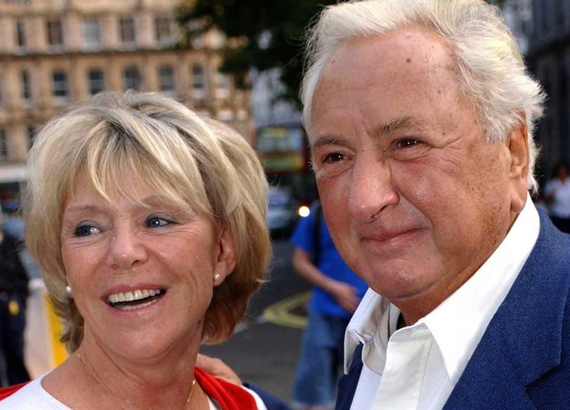 Police supporters: Geraldine and Michael Winner
