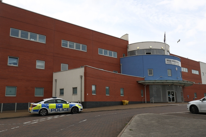 West Bromwich Police Station (PA)