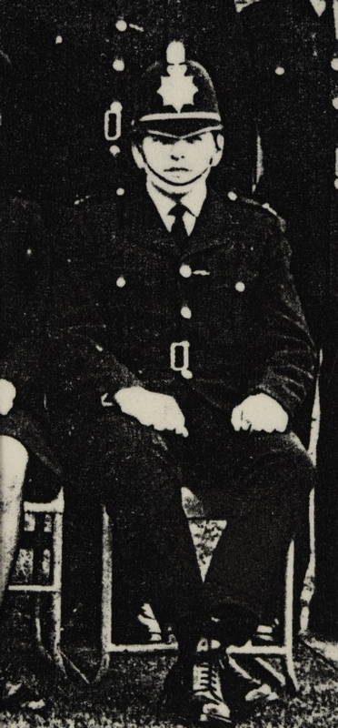 First day in the force in 1967