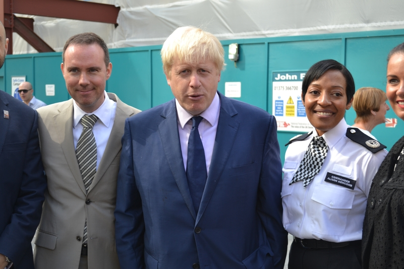 Boris contradicts commissioner over specials holding regular ranks