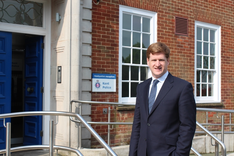 Kent Police and Crime Commissioner Matthew Scott