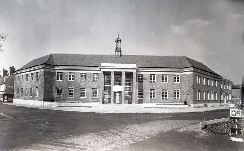 Kings Lynn police station in the 50s