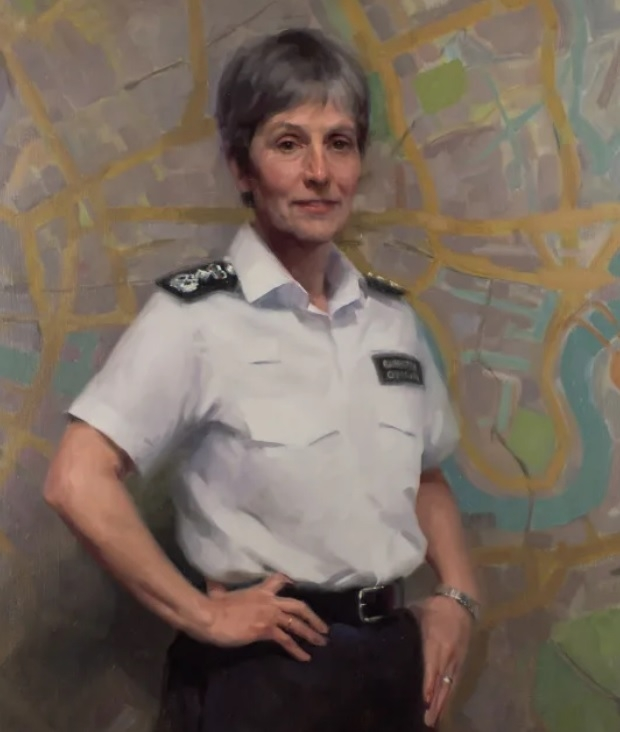 Head for heights: official portrait of Commissioner Cressida Dick