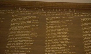 Remembrance for officers killed in WW2