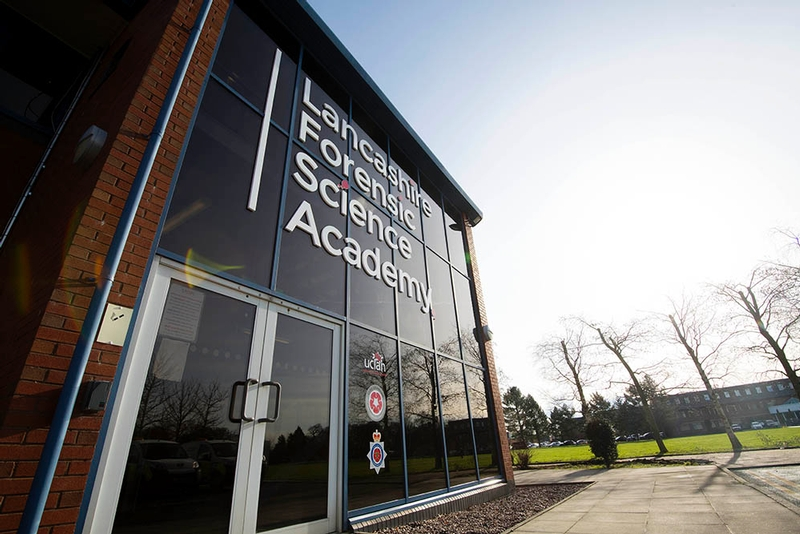 Lancashire Forensic Science Academy opened today in what is believed to be a world-first