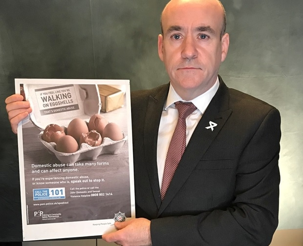 Walking on eggshells: Christmas domestic abuse campaign promoted by Det Supt Ryan Henderson