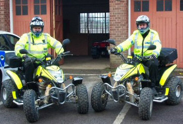 Quad Bikes Help In Rural Areas | UK Police News - Police ...